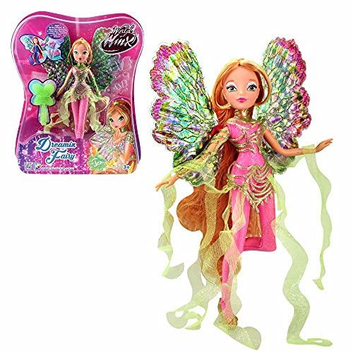 Winx Club Flora | Dreamix Fairy Puppe World of Winx | Magisches Gewand