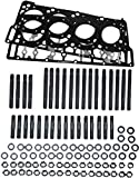 ARP Head Stud Kit &OEM Style Black Diamond 18mm Head Gaskets...