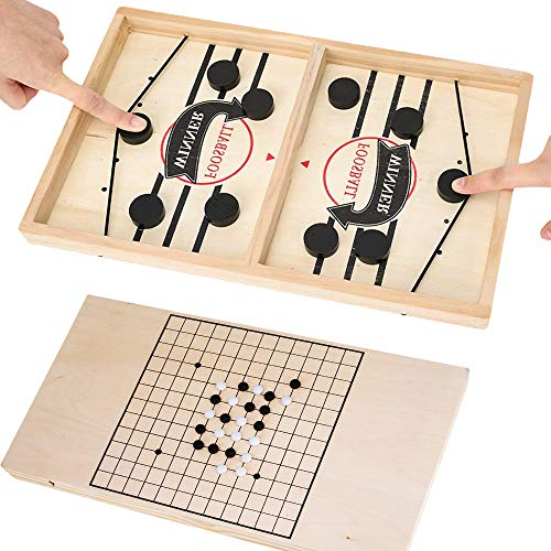 INNOLV Fast Sling Puck Game Paced & Gobang (Five in a Row) 2...