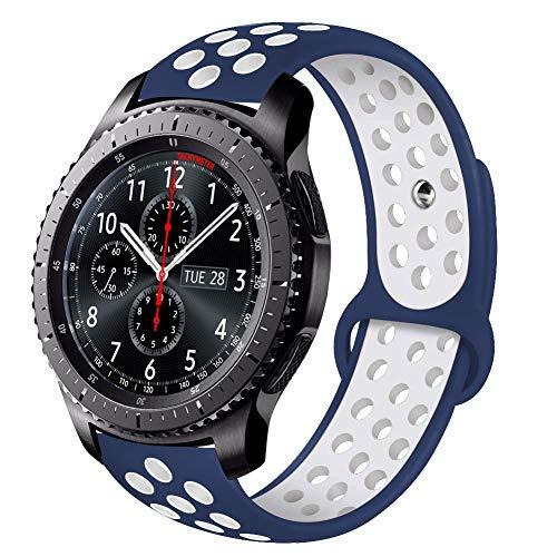 VIGOSS Armband für Galaxy Watch 46mm/Gear S3 Frontier/Classic, Uhrenarmband Ersatzarmband Uhrenband 22mm Watchband Strap für Gear S3 Frontier/Gear S3 Classic, Moto 360 2nd Gen 46mm Smartwatch