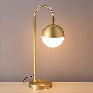 LQQGXL Nombre del producto: Lámpara de mesa Tipo de interruptor: Botón de interruptor de encendido Material: hierro + vidr...