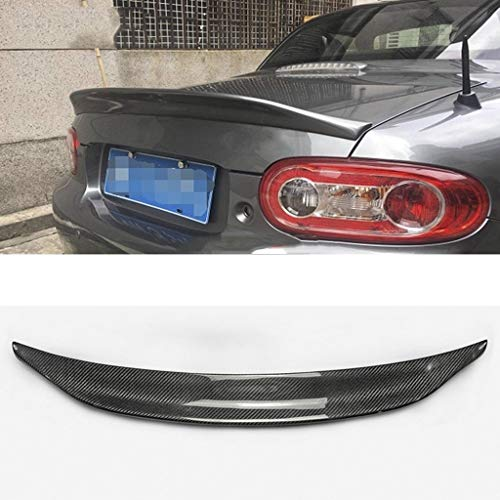 LSJGG Accessories Fit for MX5 NC NCEC Roster Miata EPA Typ 3 2009-2015 Carbon Heck Trunk Spoiler Heck Stiefel Lippenflügel Car Styling (Color : Carbon Fiber)