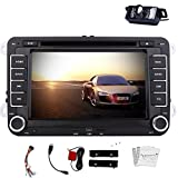Free Camera Included New Android 4.2 Car GPS Navigation 7-inch Double-din in Dash Car DVD Player Stereo with...