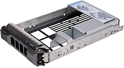 3.5 inch Hard Drive Tray Caddy with 2.5'' Adapter for Dell Poweredge SAS/SATA R310, T310, R410, T410, R415, R510