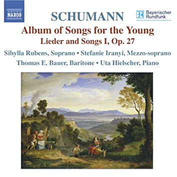 SCHUMANN, R.: Lied Edition, Vol.  3 - Lieder-Album fur die Jugend, Op. 79 / Lieder und Gesange I, Op. 27