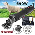 Powerful Electric Sheep Shearing Clippers Shears Animal Wool Sheep Cut Goat Alpaca Pet Trimmer Farm Machine UK Plug 690W from Sinbide