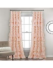 Lush Decor Kemmy Window Curtain Sing Panel
