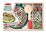 Melissa & Doug- Pizza Party Giocattolo in Legno, Multicolore, 167