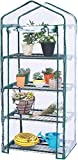 Worth 4 Tier Mini Greenhouse Indoor Outdoor Kit for Winter Zipper Door Seedlings & Seed Propagation Plant Growing