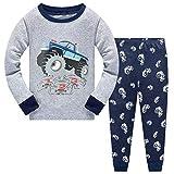 Little Hand Toddler Boys Pajamas Monster Truck Pjs Set Race Car Jammies 100% Cotton Kids Pjs Sleepwear