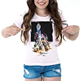 Camiseta Mujer Rogue One: Una Historia de Star Wars (Blanco, L)