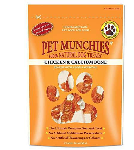 Pet Munchies - Hueso Calcio Pollo, 0.1KG