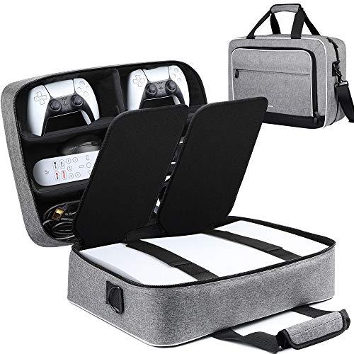 ZtotopCase para PS5 Estuche de Transporte, Compatible con la Consola PS5 y...