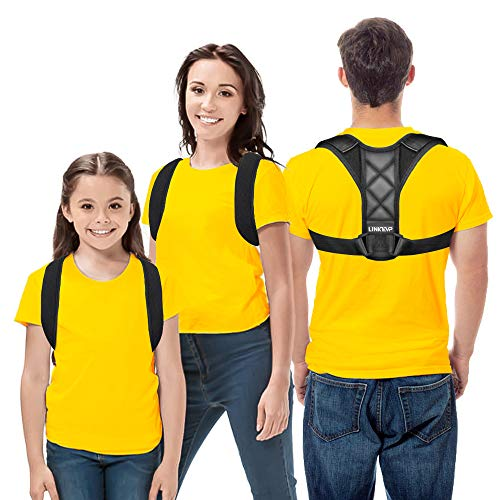 Posture Corrector, Linkevp Back Support Brace for...