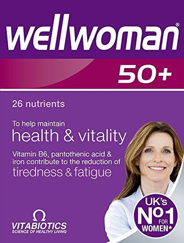 4 x Vitabiotics Wellwoman 50+ 30 Tablets