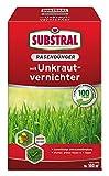Substral Rasendünger mit Unkrautvernichter - Profiqualität mit 100 Tage Langzeitwirkung und Unkrautvernichtung in einem Arbeitsgang - 2 kg für 100 m²