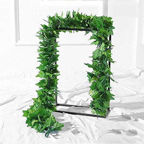 TuToy 10Pcs Artificial Trailing Ivy Vine Leaf Ferns Greenery Garland Plantas Follaje Flores Decoraciones