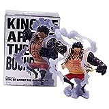 YIGEYI One Piece Monkey D Luffy Anime Acción Figura 14 cm Figuras de PVC Figuras Coleccionables Modelo de carácter Estatua Juguetes