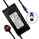 YZPOWER 54.6V 4A Battery Charger Electric Bike Scooter Battery Charger 48V Lithium Battery Pack UK Plug Power...