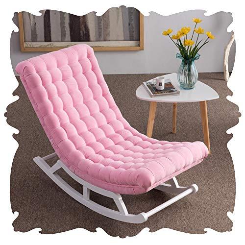 LIXIONG Schaukelstuhl Innen- Sessel Lounge-Sessel Gepolstert Sonne Liegen Dekor Möbel Balkon Hinterhöfe Schaukeln Sitz, 5 Farbe (Color :...