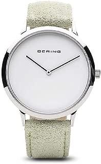 Bering Classic Quartz Movement White Dial Ladies Watch
