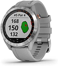 Garmin Approach S40 ، ساعت هوشمند GPS Golf شیک ، سبک وزن با صفحه نمایش لمسی ، خاکستری / استنلس استیل