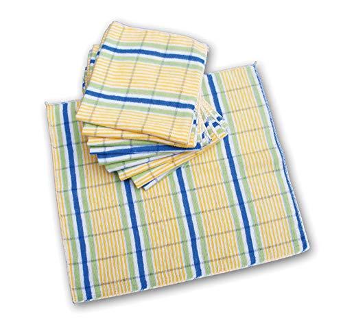 Schulz - Staubtücher traditionell -70% Baumwolle und 30% synt. Fasern - 10er Pack