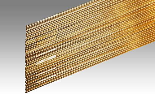 10 Stäbe WIG Löten CuSi3Mn1 Abm. 1,6 x 500 mm Lichtbogenlöten