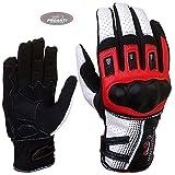 PROANTI Motorradhandschuhe Sommer Motorrad Motocross Handschuhe Größe L