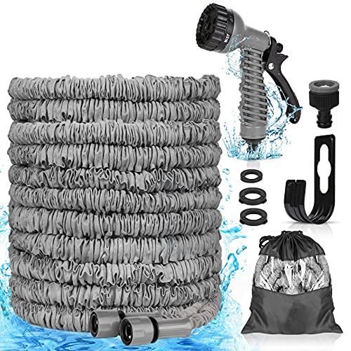Tubo da Giardino Estensibile 75FT 22.5M Tubo Acqua da Giardino con 7 Funzioni di Spruzzo,tubo irrigazione per autolavaggio