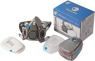 ZOOMY Pintura Pulverización Máscara de Gas Antipolvo Respirador Filtro de Trabajo de Seguridad Máscara de Polvo para 3M 6200 5N11 6001 501 N95