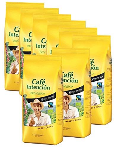 Café Intención Ecologico Espresso 8 x 1000 g Bohne
