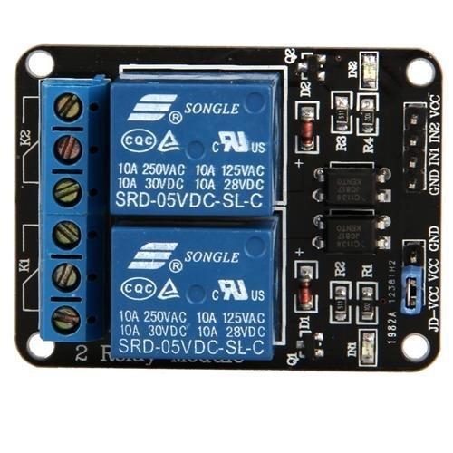 2canale 5V modulo relè per Arduino braccio pic AVR DSP