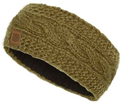 Sherpa Kunchen Stirnband jeera Olive 2020 Kopfbedeckung