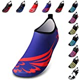 Water Shoes Mens Womens Barefoot Shoes Beach Snorkeling Swimming Quick Drying Slip on Yoga Shoes Skin Socks
