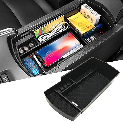 JOJOMARK for Honda Accord 2018 2019 2020 2021 Accessories Center Console Tray Organizer(NOT fit for Manual Transmission)