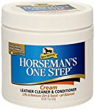 Absorbine Horsemans One Step Leather Cream - Riding Tack Cleaning Equipment