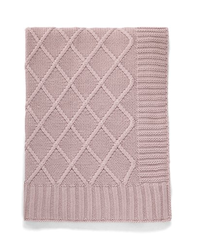 Mamas /& Papas Welcome To The World Pointelle Knitted Blanket White