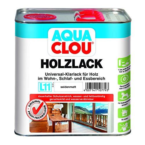 Holzlack L11 seidenmatt 2,5 L