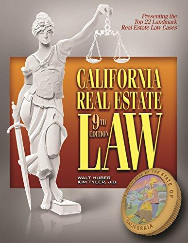 California Real Estate Law 9th Edition