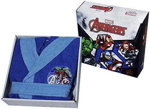 Bademantel mit Kapuze Original Avengers by Marvel Zeitraum 23456789100% Micro Schwamm Puro Baumwolle Baby Kind ANNI 4/5