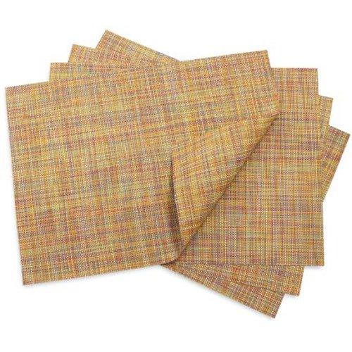 Chilewich Placemat Mini Basketweave Rectangle - Confetti