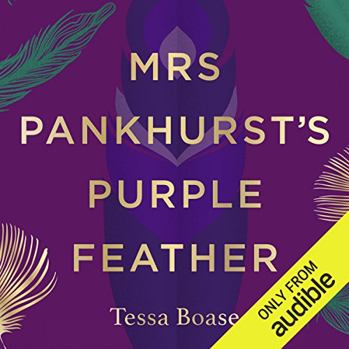 Mrs Pankhurst's Purple Feather audiobook cover art