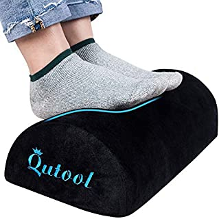 Ergonomic Foot Rest Under Desk Soft Yet Firm Foam Foot Cushion Foot Stool Pillow for Office and Home Accessories with Non-...