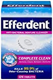 Efferdent Original Anti-Bacterial Denture Cleanser Products (126 Tablets (Pack of 1))