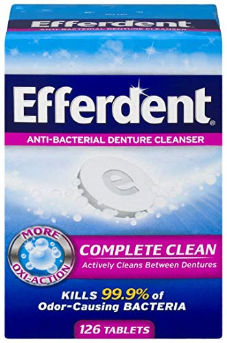 Efferdent Original Anti-Bacterial Denture Cleanser Products...