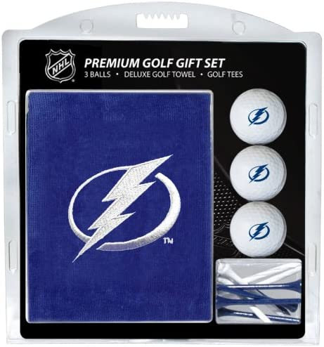 Selling and selling Team Golf NHL Tampa Bay Towe Gift Lightning Embroidered Discount mail order Set