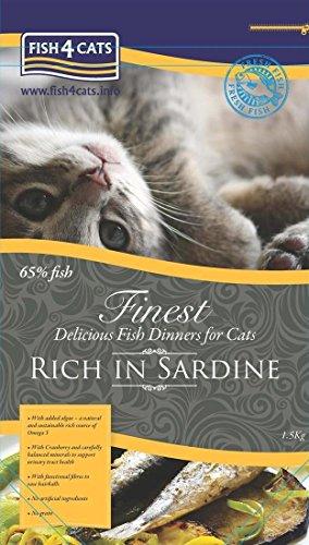 Vema - Fish 4 Cat - Finest Sardine 1,5 kg.