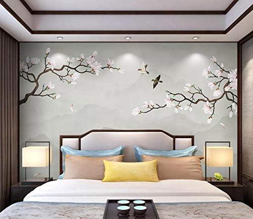 AJ WALLPAPER 3D Max 71% OFF Flower Fresno Mall Bird WC024 Wall Paper Decal Print Wa Deco