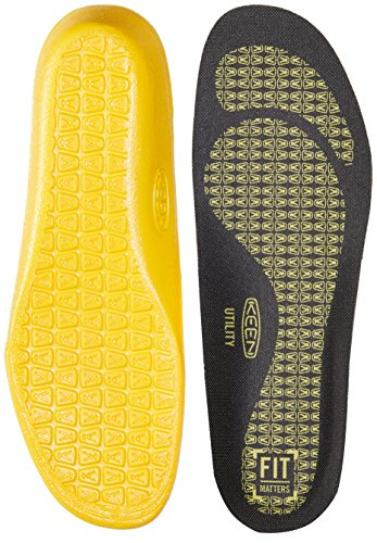 Keen Utility Men's K-20 Insole with Extra Cushion for Neutral Arches Accessories, Black, S
